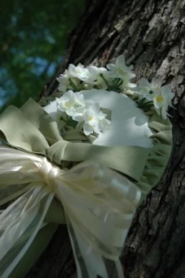 Wedding Rehearsal Ribbon Bouquet