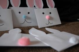 Paper Easter Bunny Treats
