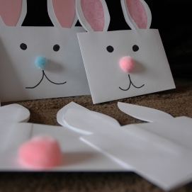 Paper Easter Bunny Treats