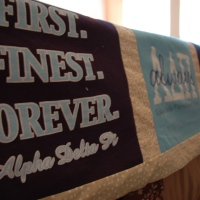 #1 ADPi T-Shirt Quilt Completion