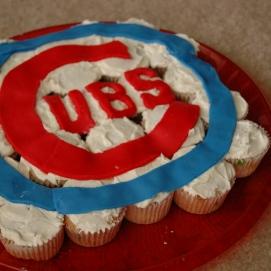 Cubs Cupcakes