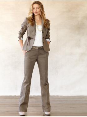 Blouse Under Suit Jacket 4