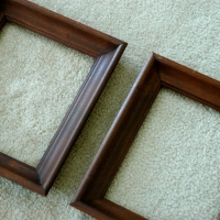 The Empty Frame {DIY}