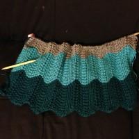 Knitting 101 {Chevron Baby Blanket}