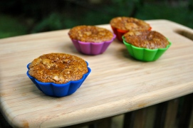 Carrot Cake Protein Muccins