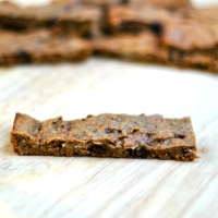 Cinnamon Chocolate Protein Bars