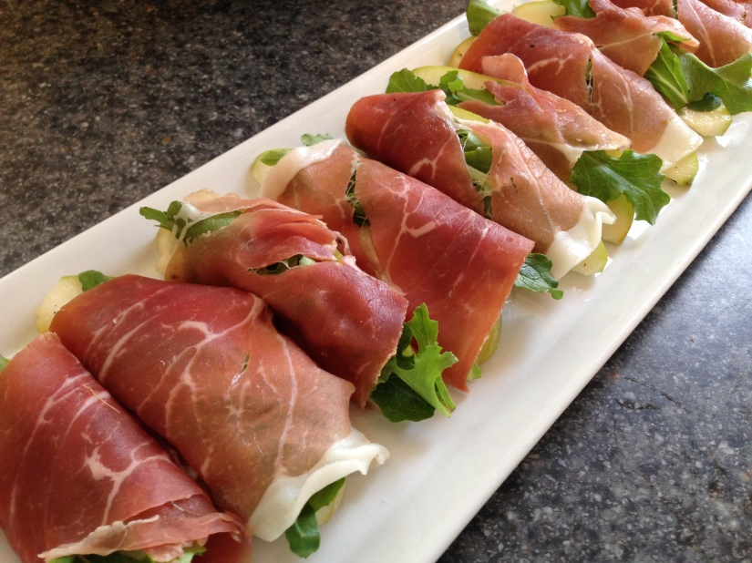Pear and Prosciutto Wraps