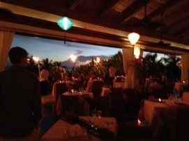 One of the pretty restaurants