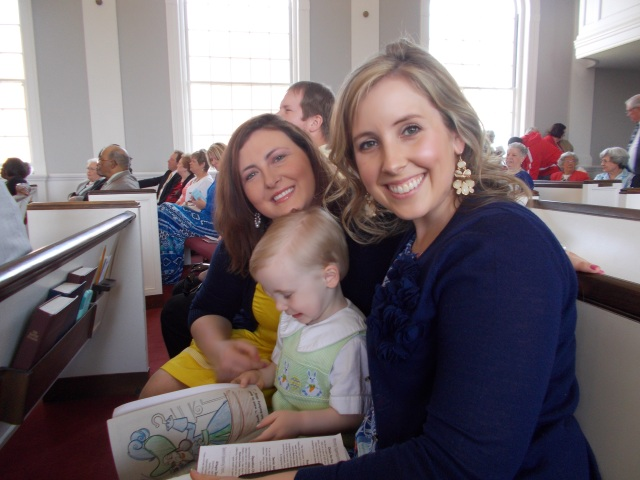 Me and Sis-in-law with little Jack