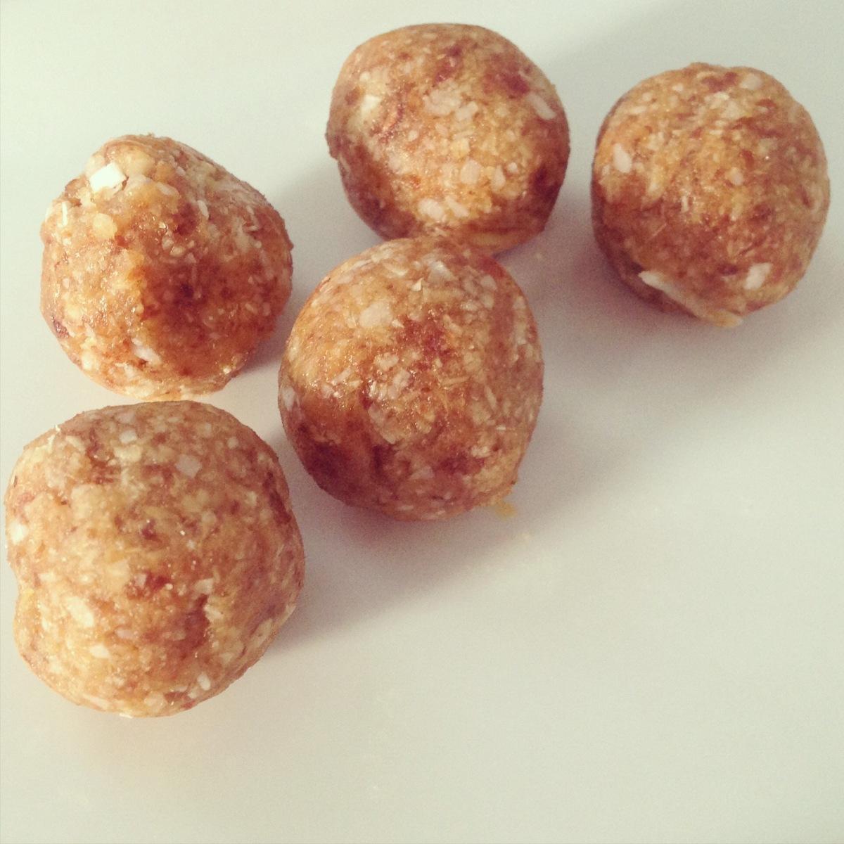 Coconut Ginger Balls