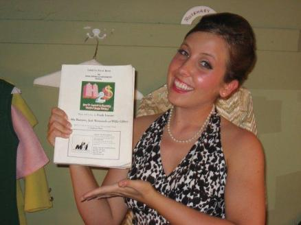 Wow, it's been SIX YEARS since I played Rosemary in How To Succeed in Business Without Really Trying. I LOVED this role, I loved the cast, and I loved my first post-college theater experience. Seriously missing my theater days right about now!