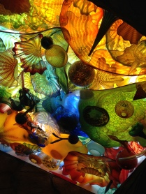Chihuly in the ceiling