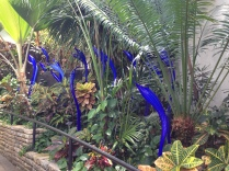 Chihuly in the plants