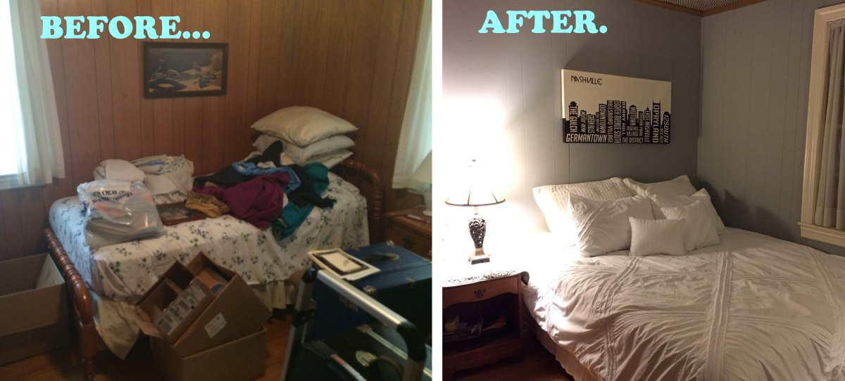 The Guest Room {Before & After}