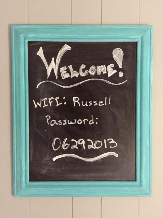 Guest wifi