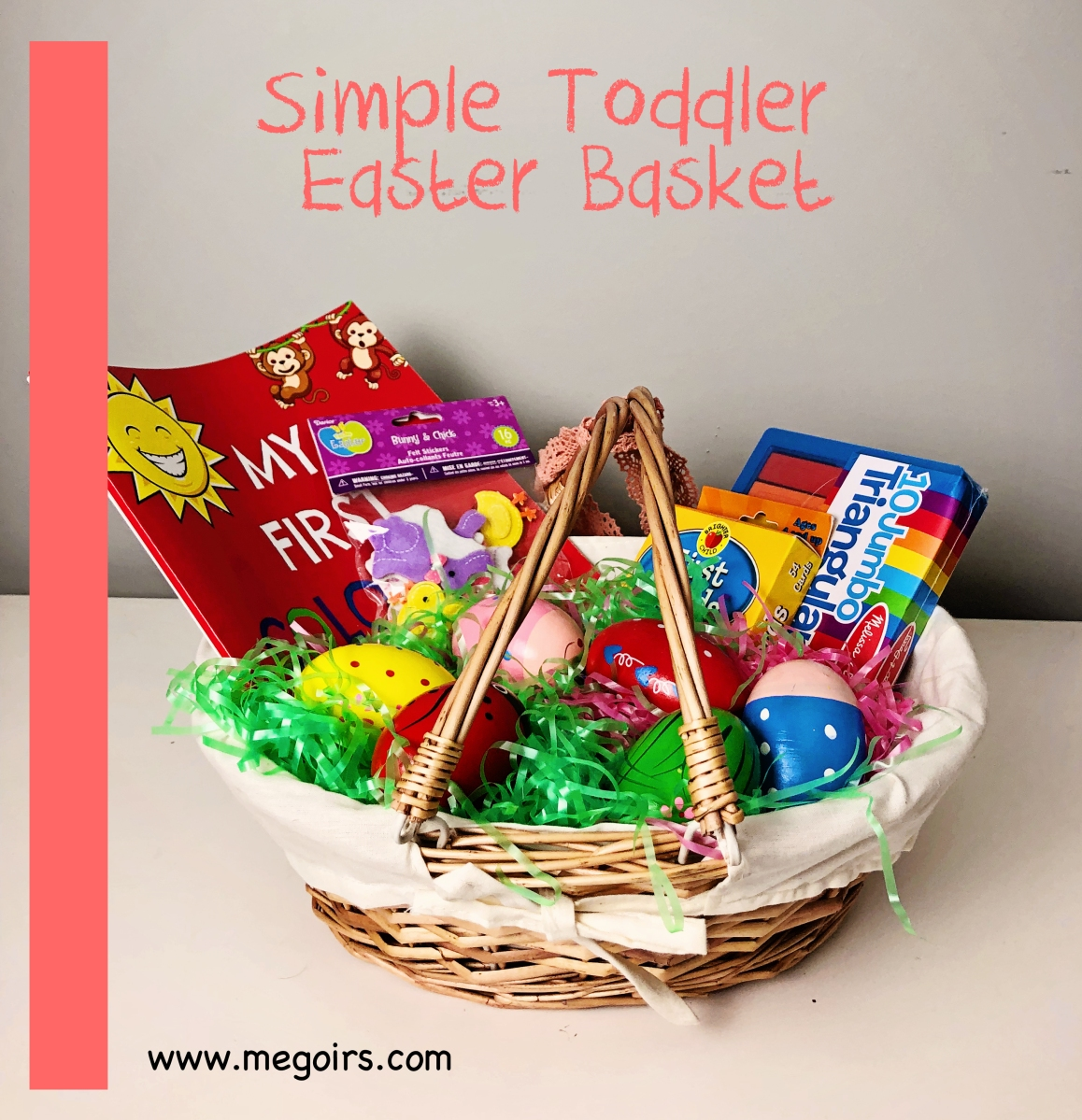Simple Toddler Easter Basket