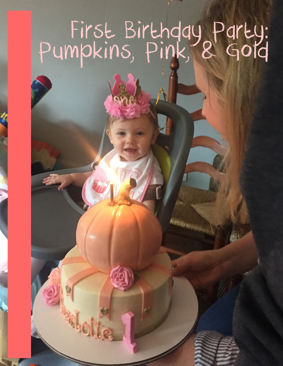 Pumpkin First Birthday Party