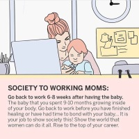 Society + Working Moms = ??