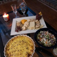 A Frasier Party {Quiche Lorraine}