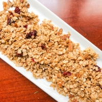 Simple Granola {Recipe}